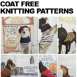 15 Dog Sweater and coat free knitting patterns