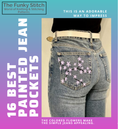 16 Best Painted Jean Pockets