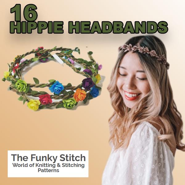 16 hippie headbands