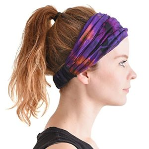 Tie-Dye Hippie Headband
