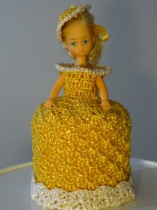 Crochet Doll Toilet Paper Cover