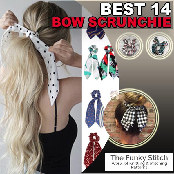 Best 14 Bow Scrunchie
