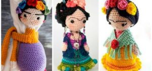DIY Crochet Geisha Doll Pattern