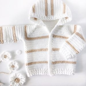 Nifty Crochet Newborn Baby Sweater