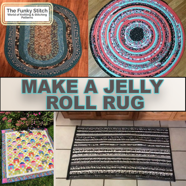 Make a Jelly Roll Rug