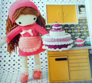 Attractive Large Crochet Doll Pattern
