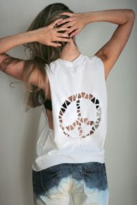 Glam Cut out T-shirt