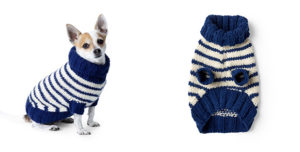 Woolen Dog Coat Free Knitting Pattern
