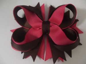 Intricate Twisted Boutique Hair Bow