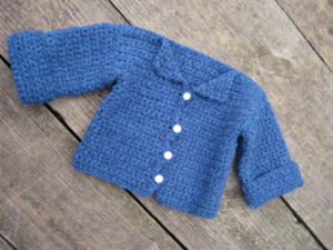Crochet Baby Sweater Instructions