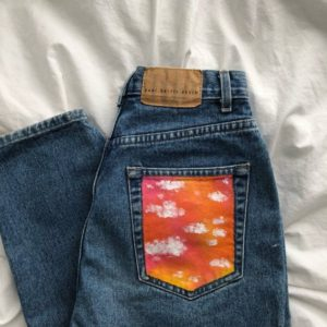Jeans Pocket Painting