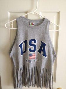 Feminine Cut up T-Shirt Designs