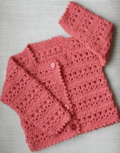 Baby Crochet Sweater Design