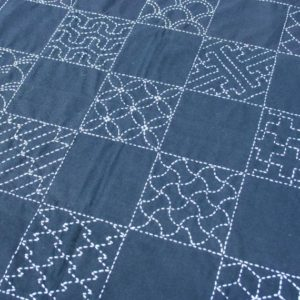 Single Sashiko Embroidery Motifs