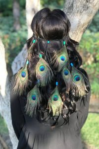 Cool Hippie Feather Headband