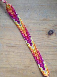 Strand Classic Chevron Stripe Friendship Bracelet