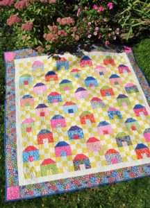 Jelly Roll Rug Turned Placemats DIY