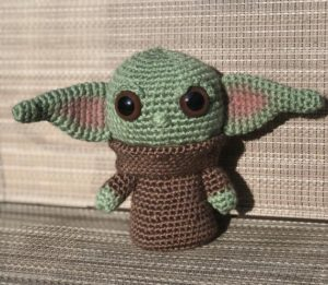 Crochet Baby Yoda Doll Pattern