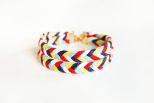 Chevron Arrow Friendship Bracelet