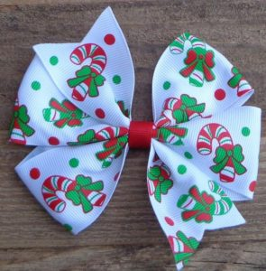 Christmas Boutique Hair Bow