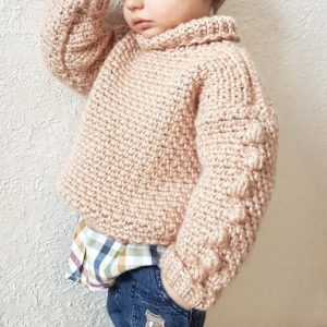 Free Beginner Crochet Sweater Pattern for Babies