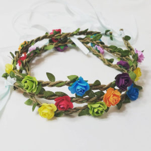 Hippie Flower Headband DIY