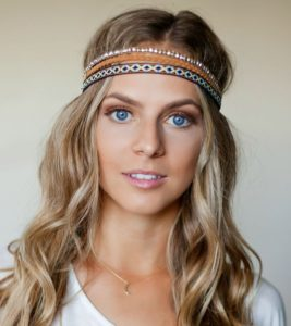 Leather Hippie Headband