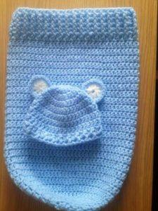 Baby Cocoon Free Crochet Pattern