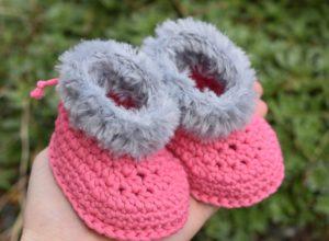 Fun Fur Crochet Boots Free Pattern