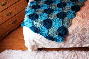 Roses Crochet Blanket Pattern