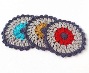 School Days Crochet Coaster Patterns
