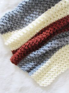 Good Vibes Crochet Blanket Free Pattern