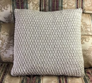 Easy Crochet Pillow Cover Free Pattern
