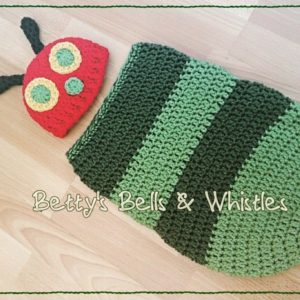 Caterpillar Cocoon by Betty's Banter