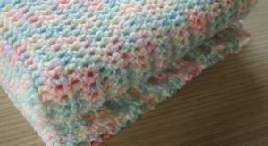Easy Crochet Baby Blanket Free Pattern