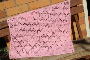 Crochet Heart Blanket Pattern