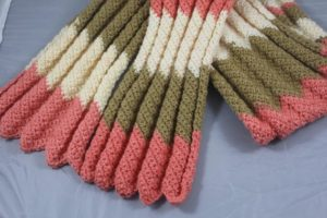 Easy Single Crochet Scarf Free Pattern