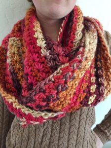Star Stitch Scarf Free Crochet Pattern