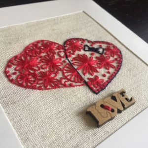 Wedding Wishes Embroidery Transfer Pattern