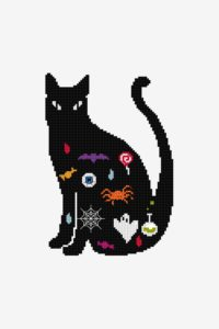 Cat Embroidery Pattern from DMC