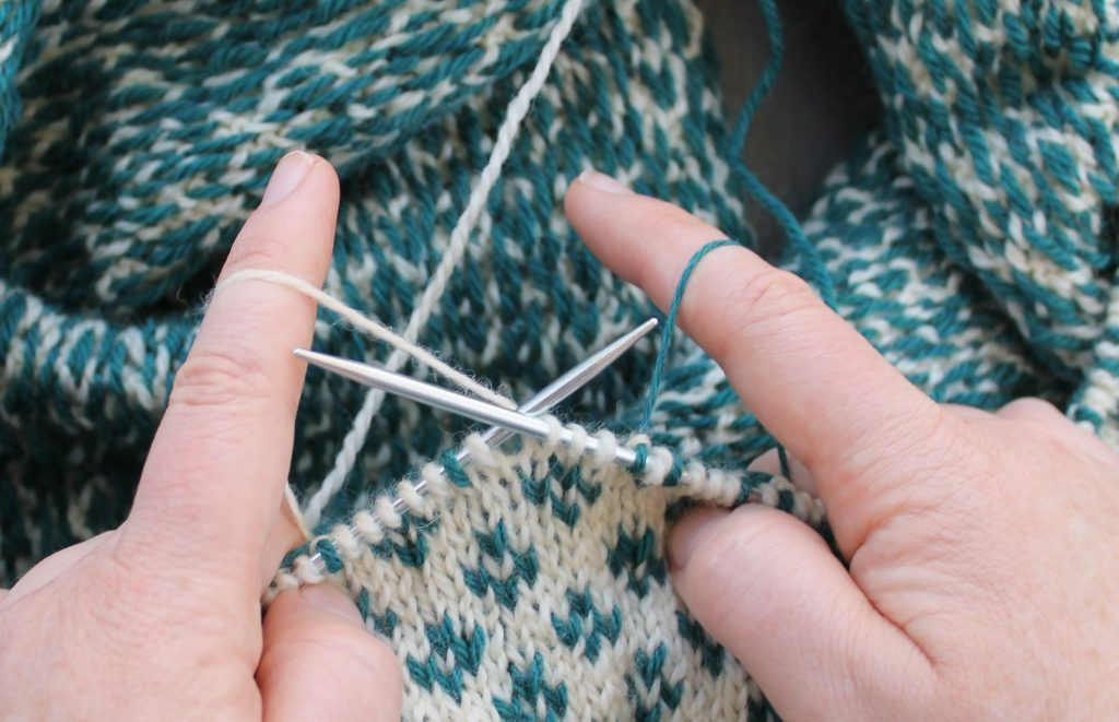 How to Do Stranded Knitting