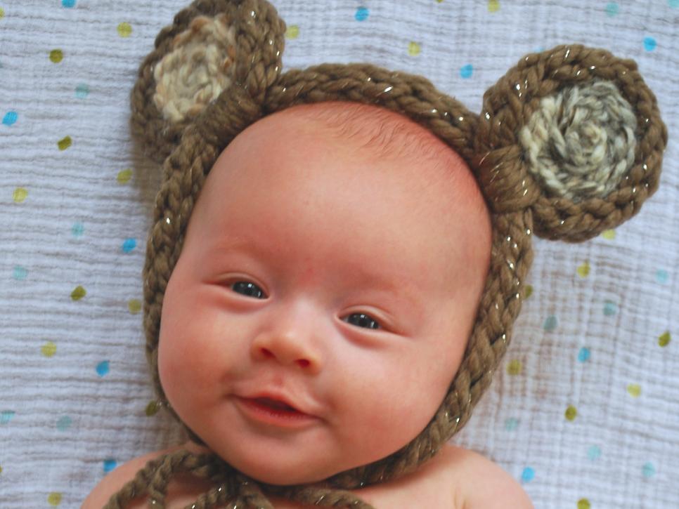 Finger Knit Adorable Animal Headbands