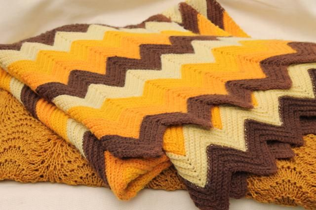 Retro Lace Knit Blanket Pattern