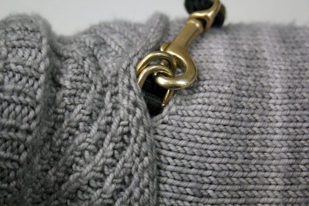 Harness-Friendly Dog Sweater Knitting Pattern