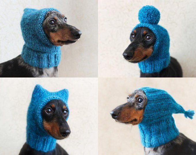 Mini Dachshund Hat Knitting Pattern
