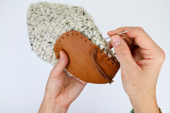 Slipper Boots With Non-Slip Soles