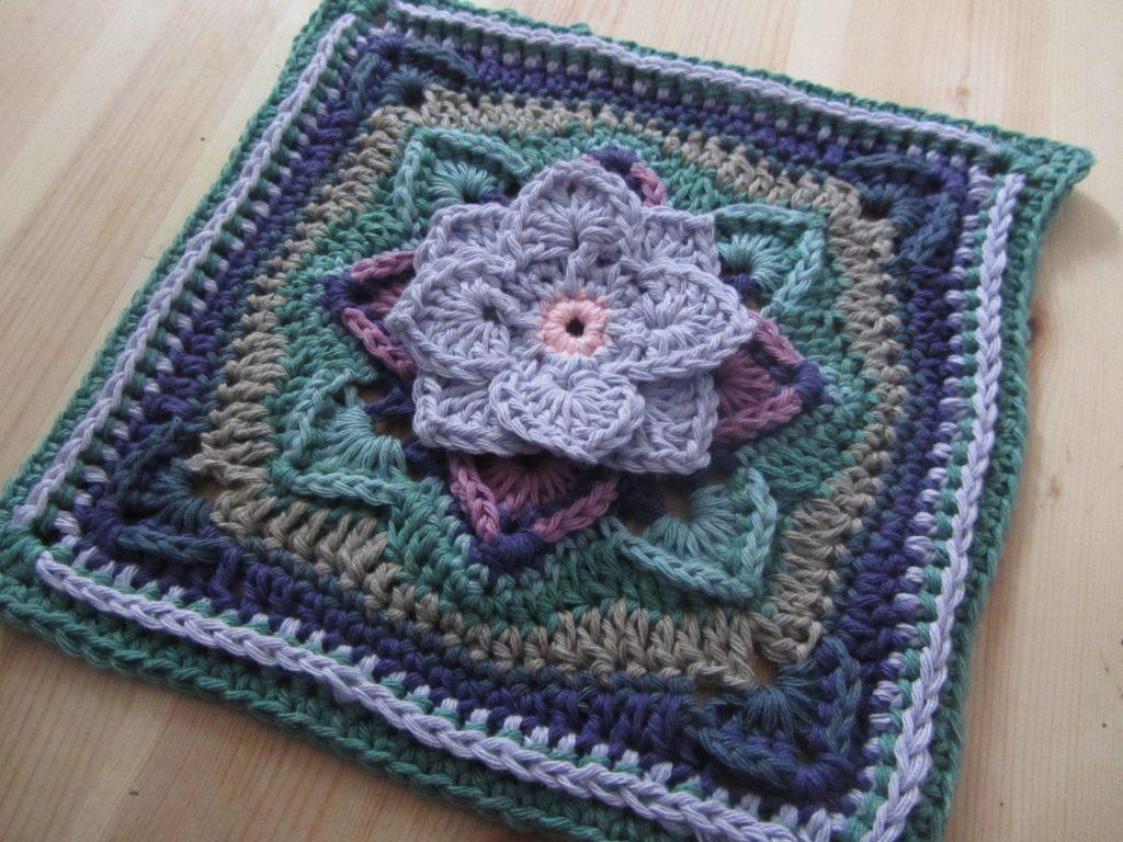 Demelza Crochet Blanket Free Pattern