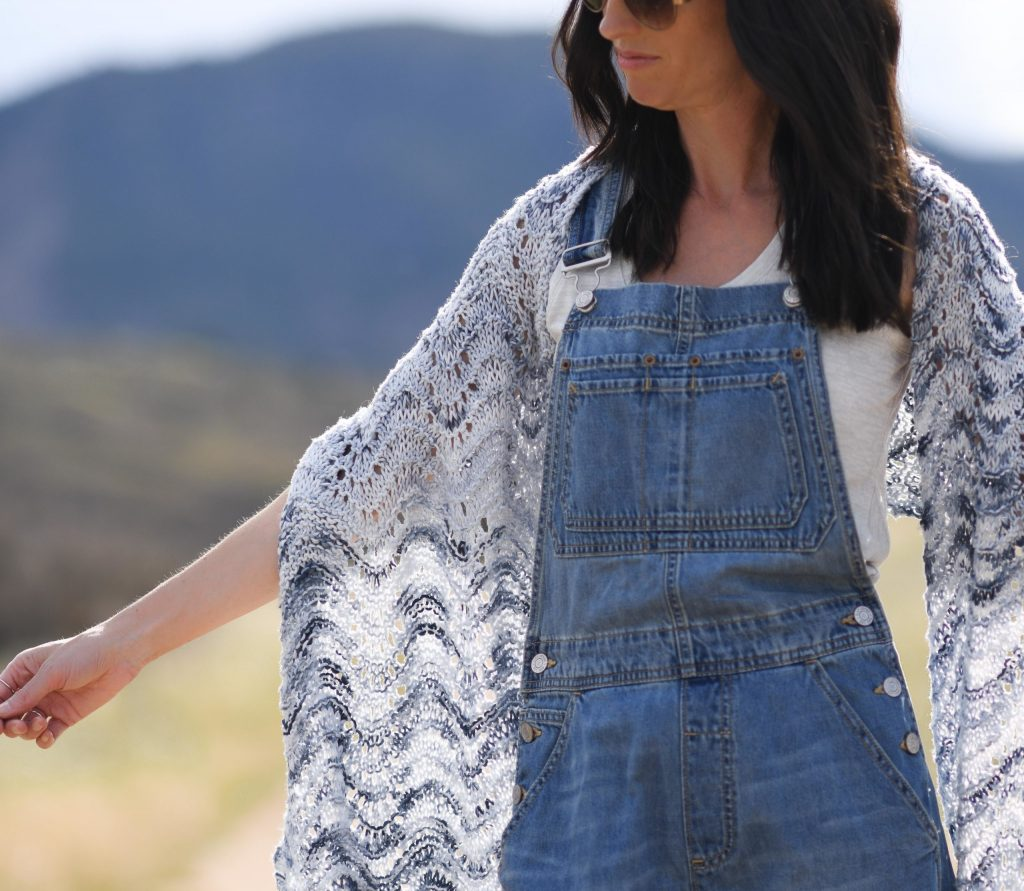 Dressed-Up Lace Shawl Pattern