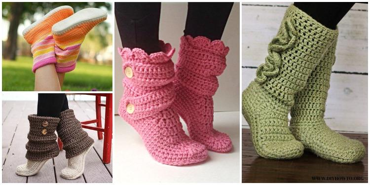 Cozy Slipper Booties Pattern