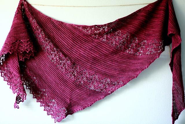 Oversized Wrap-Style Shawl Knitting Pattern